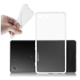 Cadorabo tapauksessa Sony Xperia M5 tapauksessa tapauksessa kansi - joustava TPU silikoni puhelinkotelo - silikoni kotelo suojakotelo ultra ohut pehmeä takakannen tapauksessa puskuri