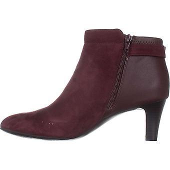 Alfani dame Viollet ruskind ruskind lukkede tå ankelstøvler mode