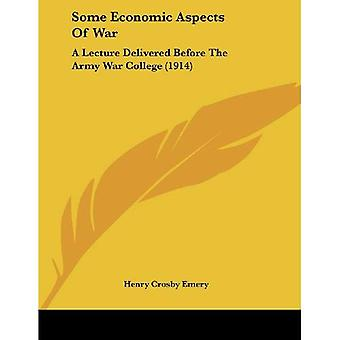 Alcuni aspetti economici della guerra