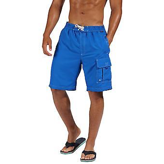Regatta Mens Hotham III Quick Dry zwemmen strand Board-Shorts