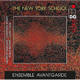 Ensemble Avantgarde - New York School: Feldman Cage Wolff B [CD] USA import