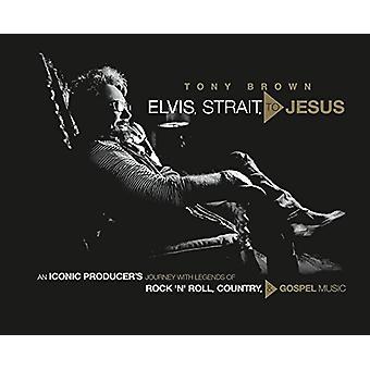 Elvis - estreito - Jesus - viagem de um icônico do produtor com lendas