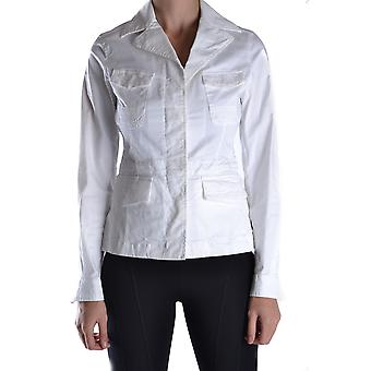 Aspinal of London Ezbc0671004 Frauen's weiße Baumwolle Outerwear Jacke