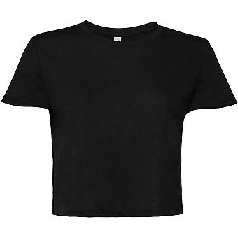 Cotton Addict Womens/Ladies Flowy Cropped Tee T Shirt