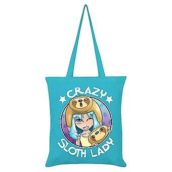Grindstore Crazy paresseux Lady Tote Bag