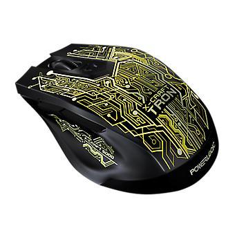 PowerLogic X-Craft Tron 5000 6 Button Optical USB Mouse