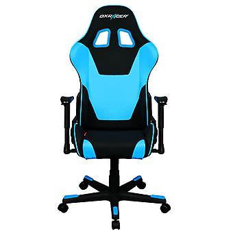 DX Racer DXRacer OH/FD101/NB High-Back Computer Chair Strong Mesh+PU(Black/Blue)