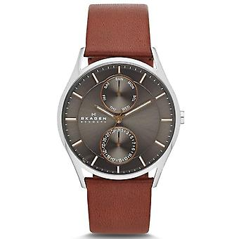 Skagen Holst lederen Chronograph Mens Watch SKW6086