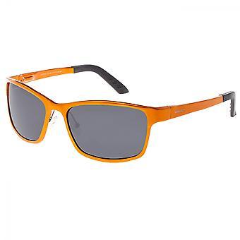 Rasse-Hydra-Aluminium polarisierten Sonnenbrillen - Orange/Schwarz