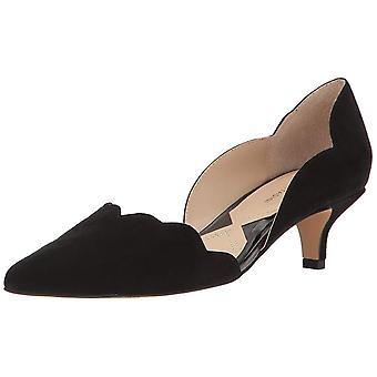 Adrienne Vittadini Womens cuir serein Pointed Toe Pumps classique