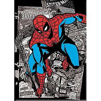 Magnet - Marvel - Spiderman B&W Comic New Gifts Toys m-mvl-0062