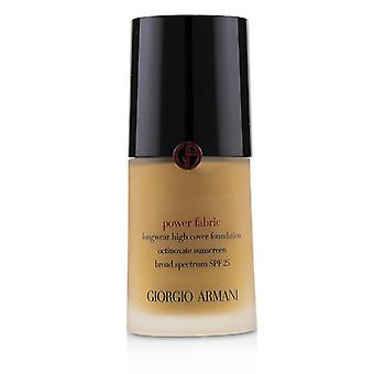 Giorgio Armani Power tyg Longwear hög täckmantel Foundation SPF 25-# 7,75-30ml/1.01 oz