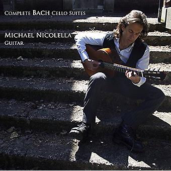 Michael Nicolella - Michael Nicolella: Complete Bach Cello Suites (Arranged for Guitar) [CD] USA import