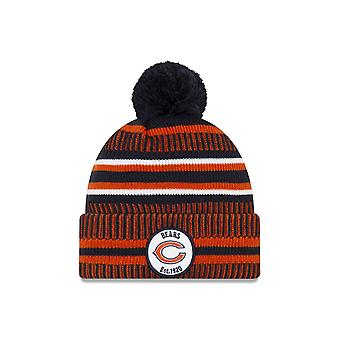 New Era On Field Sport Knit Hm Beanie ~ Chicago Bears
