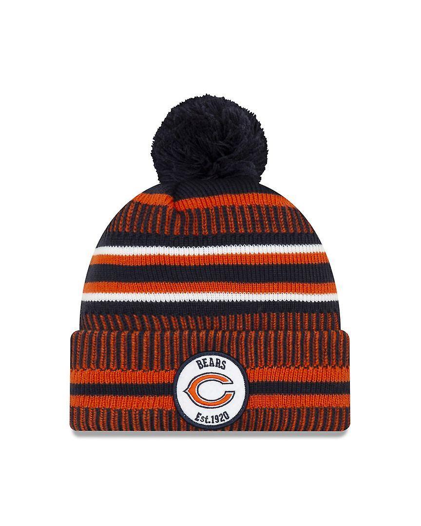 New Era On Field Sport Knit Hm Beanie ~ Chicago Bears