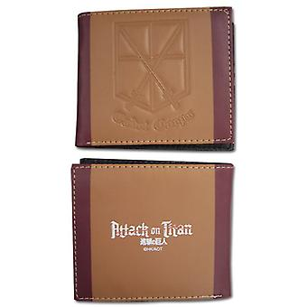 Wallet - Attack on Titan - New Cadet Corps Gifts Toys Licensed ge61826