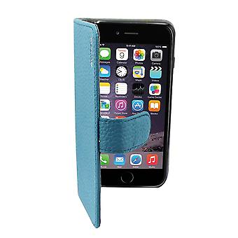 Suncia Leather5 Case for Apple iPhone 6 Plus Blue