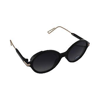 Óculos de sol UV 400 oval Zwart1874_2