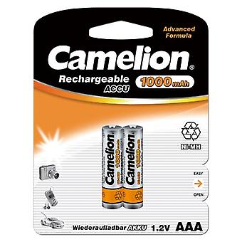 24x Camelion rechargeable batteries AAA NiMH 1000mAh battery