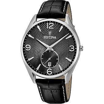 फेस्टिना-कलाई घड़ी-पुरुष-F6857/A-रेट्रो