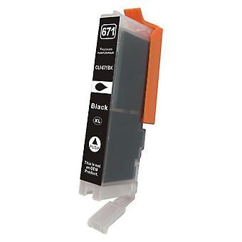 Cli-671XL Cartucho de inyección de tinta compatible con Negro Premium