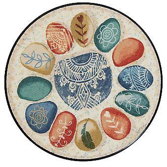 Salonloewe doormat Inner Circle x 85 cm tappeto rotondo