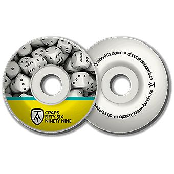 Agency ' craps' skateboard wheels 56x37mm