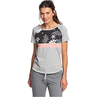 Roxy Before I go T-shirt em Heritage Heather