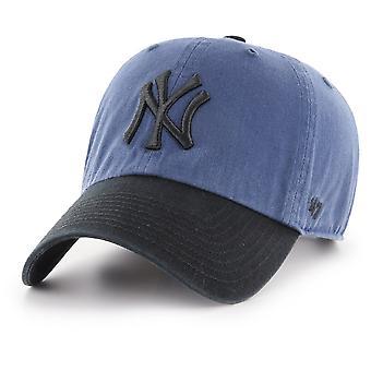 47 العلامة التجارية قابل للتعديل كاب -- تنظيف نيويورك يانكيز الأخشاب الزرقاء