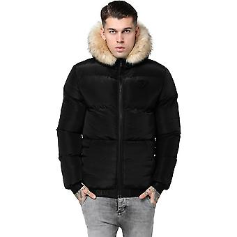 Sik Silk Distance Puffer Jacket Black 09