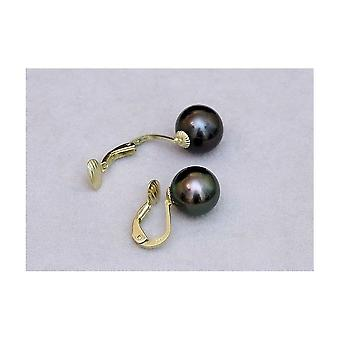 Luna-Pearls Tahitiperlen Earclips O90