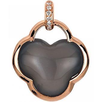Gemstone Pendant Diamonds 0.02 ct. Pierre de lune 4.95 ct.
