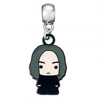 Harry Potter Silver Plated Charm Chibi Snape