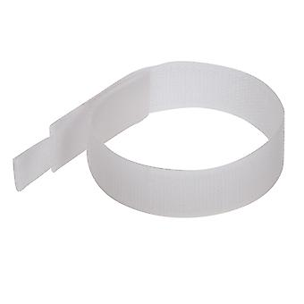 Cravatte a gancio e loop - 150mm bianco