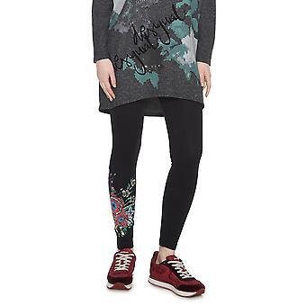 Desigual Women's Sol Floral Leg Leggings