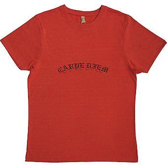 Carpe Diem Red 100% Recycled T-Shirt