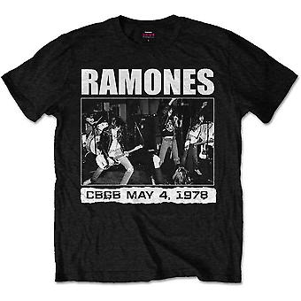 The Ramones CBGBs 1978 Punk Rock Official T-Shirt