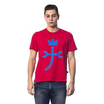 Red Castelbajac men's short-sleeved T-shirt