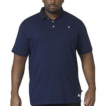Duke D555 Homme Jerell Big Tall Casual Short Sleeve Polo Shirt Top Tee - Marine