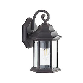 THLC Outdoor Bronze Finish Ip44 Outdoor Exterior Wall Lantern Light