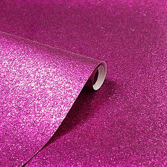 Paillette sparkle Glitter Wallpaper Hot Pink Arthouse 900903 - 6m x 0.53m