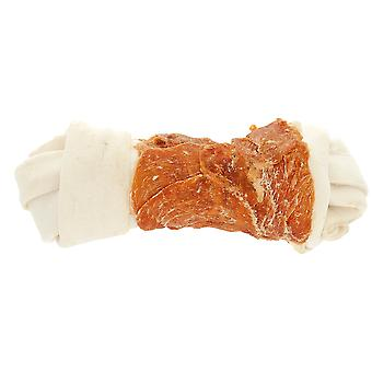 Ferribiella Rawhide Bone W/Chicken  (Dogs , Treats , Natural Treats)