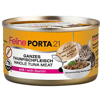 Porta21 Tuna / Crab - No Grain - (Cats , Cat Food , Wet Food)