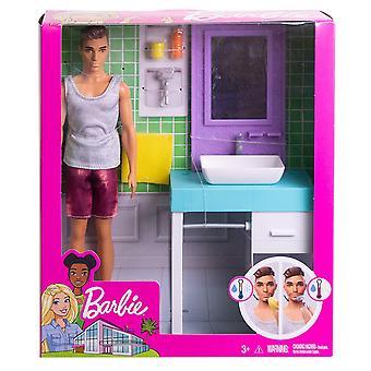 Barbie FYK53 salle de bain sur le thème Playset