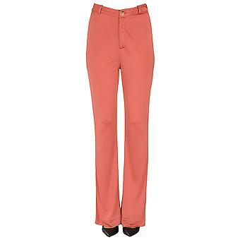 Acne Studios Ezgl151039 Women's Red Cotton Pants