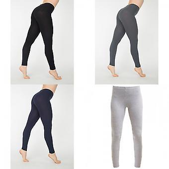 American Apparel női/női pamut spandex Jersey Leggings