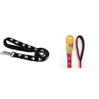 Rosewood Classic Soft Protection Reflective Dog Lead