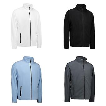 ID Mens Microfleece Cardigan