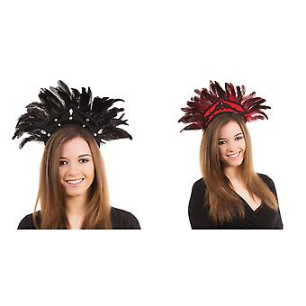 Bristol Novelty Feather Carnival Headdress