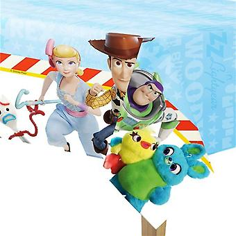 Toy Story 4 Obrus | Ściereczka z tworzywa sztucznego | Płótno 120x180cm